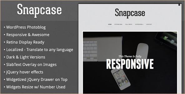 Snapcase - WordPress Photoblog Theme