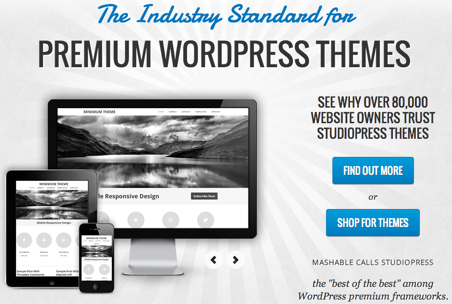 StudioPress - Premium WordPress Themes