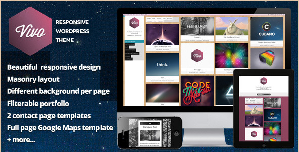 Vivo - Responsive WordPress Portfolio