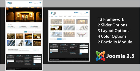 Zijji - Corporate Joomla Theme