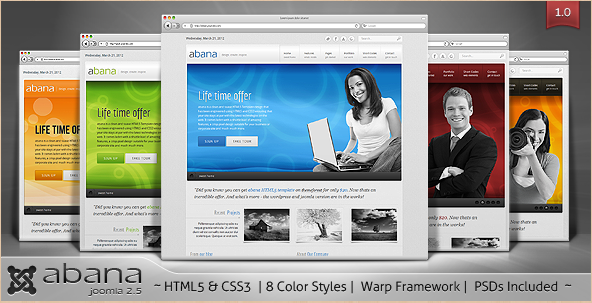 abana - Business Premium Joomla Theme