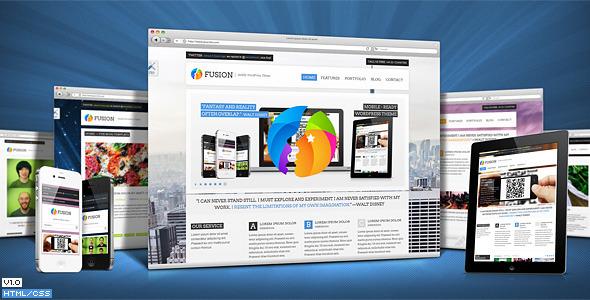 Fusion Responsive Premium Site Template