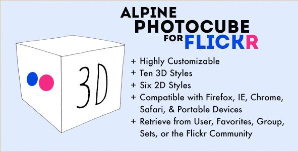 Alpine PhotoCube for Flickr