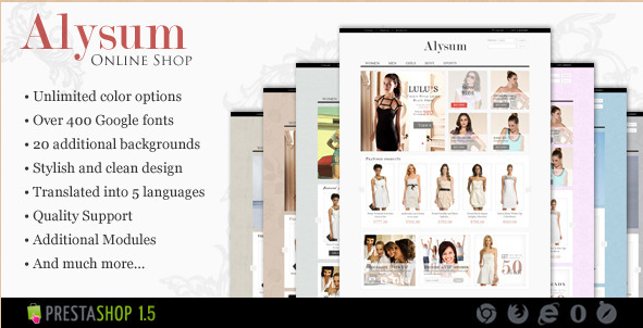 Alysum - Best PrestaShop Theme