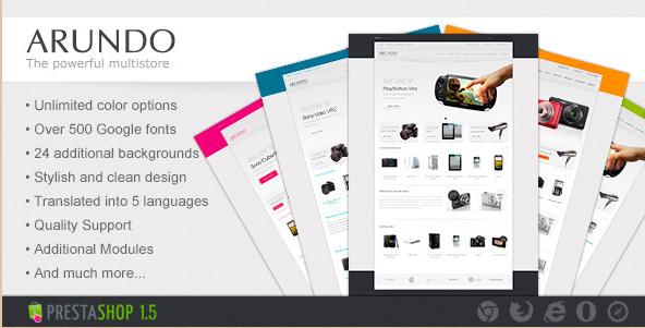 Arundo - Premium PrestaShop eCommerce Theme