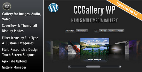 CCGallery - WP Multimedia Gallery
