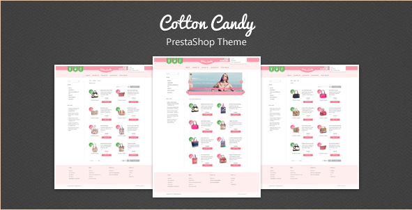 Cotton Candy - PrestaShop Theme