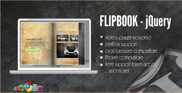 DZS jQuery Flipbook - WordPress Plugin