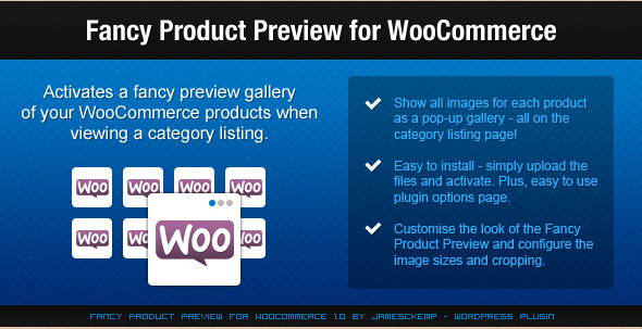 Fancy Product Preview - WooCommerce WordPress Plugin