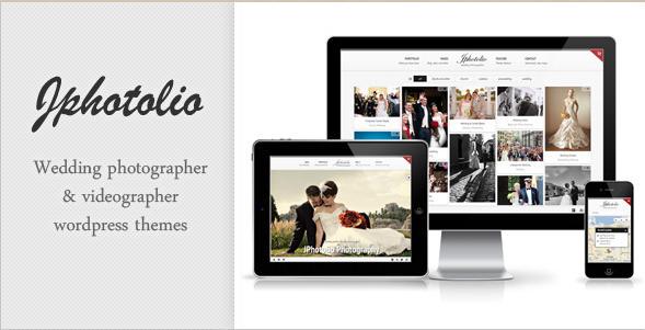 JPhotolio - Responsive WordPress Wedding Photography Theme