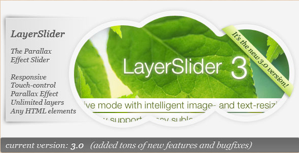LayerSlider - WordPress Parallax Slider