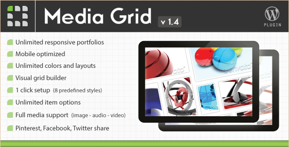 Media Grid - Responsive WordPress Galleries