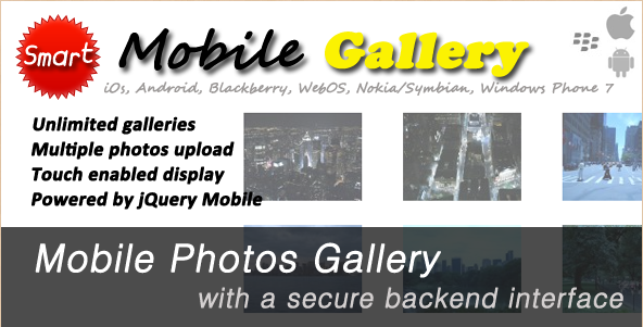 Mobile jQuery Photo Gallery