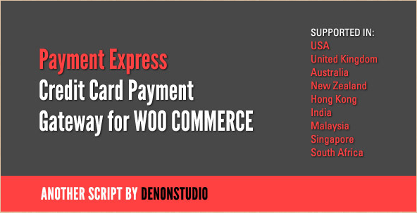 PaymentExpress - WordPress Credit Card Gateway WooCommerce