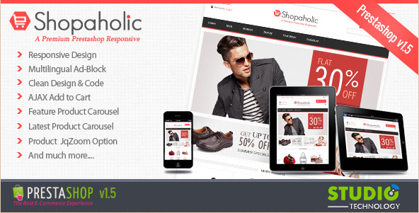 Best Prestashop Themes and Templates for 2012