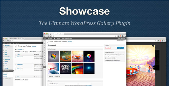 Showcase - WordPress Gallery Plugin