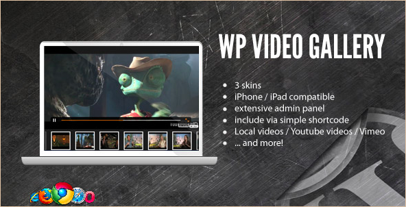 Video Gallery - WordPress Video Gallery Plugin