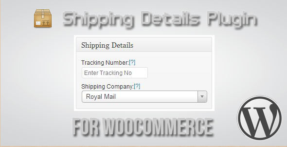 WooCommerce Shipping Details Plugin
