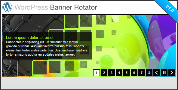 WordPress Banner Rotator