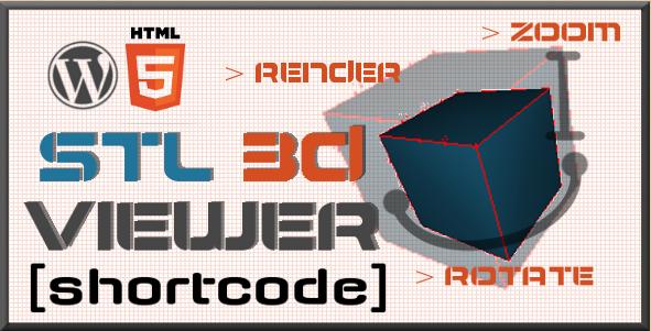 WordPress STL 3D Viewer Plugin