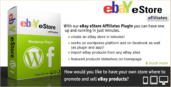 eBay eStore - eBay Affiliate WordPress Plug-in