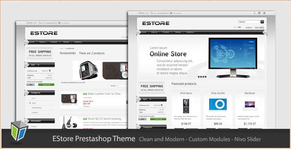 eStore - Premium PrestaShop Template