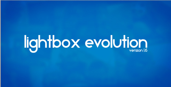 Lightbox WordPress Plugin - Evolution