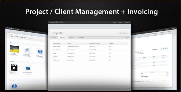 Advanced Client Portal - PHP Script