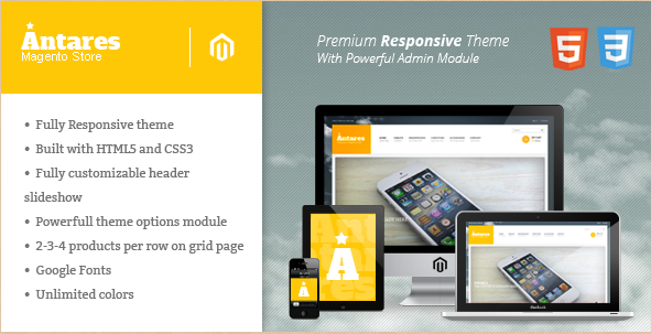 Antares - Responsive Magento Template