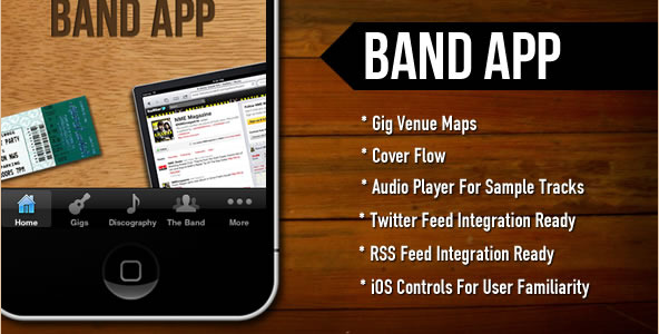 BandApp - Audio Player iOS App