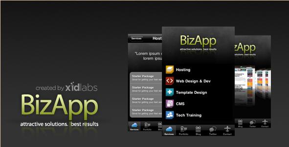 BizApp - Titanium Development App