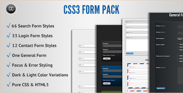 CSS3 Form Pack Plugin