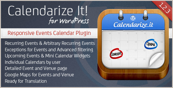 Calendarize It - WordPress Calendar Plugin