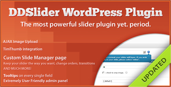 DDslider - WordPress Slide Manager Plugin