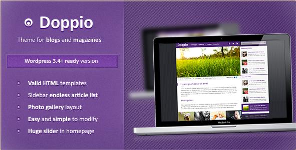 Doppio - WordPress Magazine Theme
