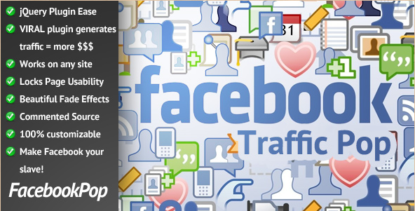 Facebook Traffic Pop - WordPress Facebook Plugin