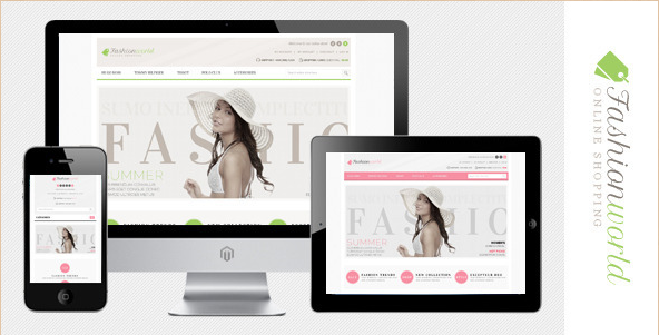 Fashion World - Magento Theme