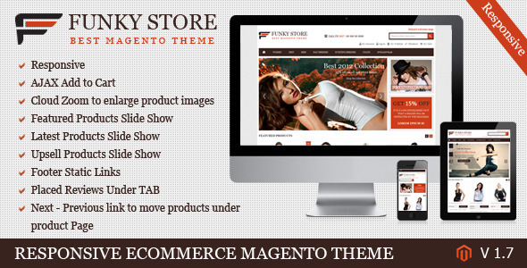 Funky Store - Magento Theme
