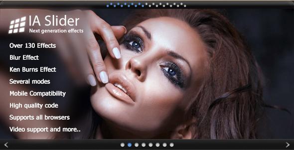 IA Slider - jQuery Image Gallery Plugin