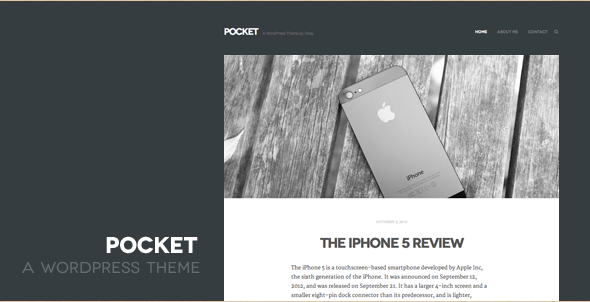 Pocket WordPress Template