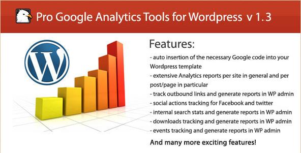 Pro Google Analytics Tools for WordPress