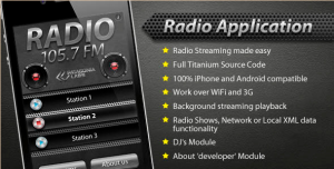 Radio Streaming - iOS Radio App