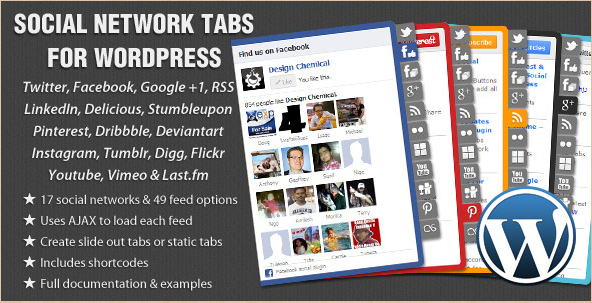 Social Network Tabs - WordPress Social Media Plugin