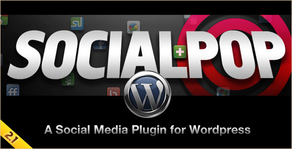 SocialPop - WordPress Social Media Plugin