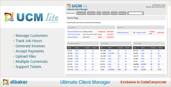 Ultimate Client Manager