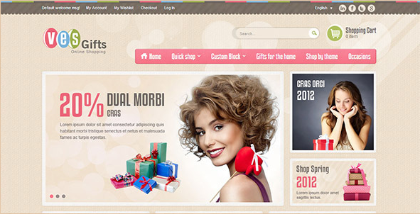 Magento Ecommerce Templates. 10 magento templates to choose from ...