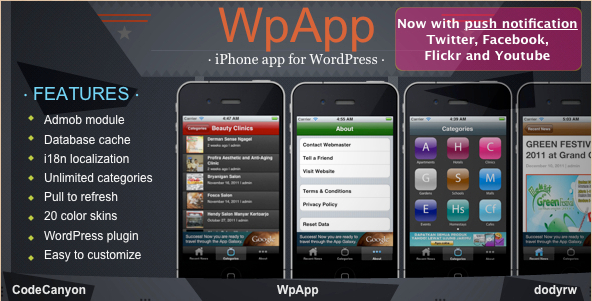 WpApp - WordPress iPhone App