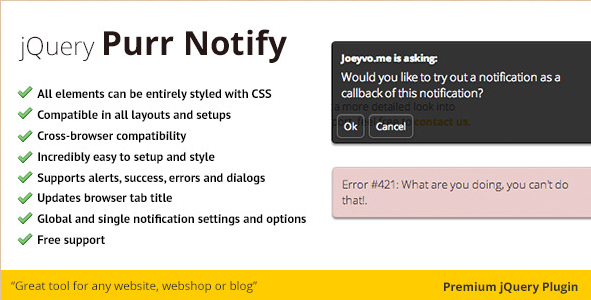 jNotify Plugin