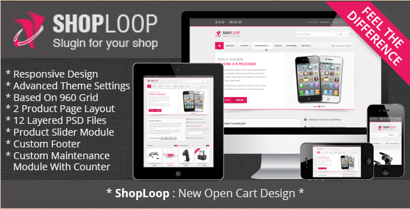 Shoploop - HTML5 OpenCart Theme