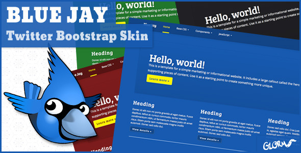 Blue Jay - Twitter Bootstrap Skin